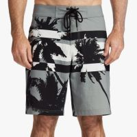James Perse Y:Osemite Printed Palm Boardshort Iron $345
