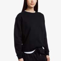 James Perse Y:Osemite French Terry Sweatshirt Black $195