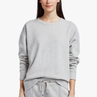 James Perse Y:Osemite French Terry Sweatshirt Heather Grey $195