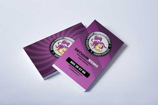 diseñamos tarjetas de visita en granada