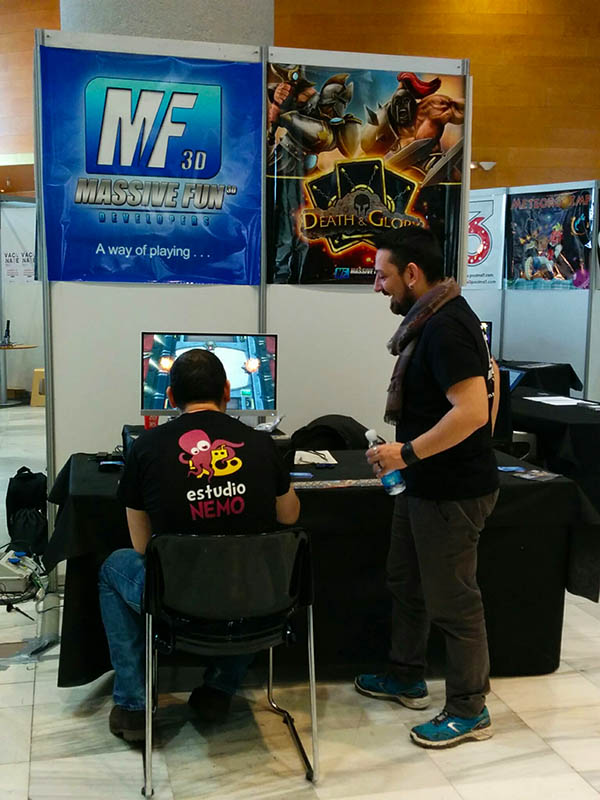 massive fun 3d granada gaming 2015