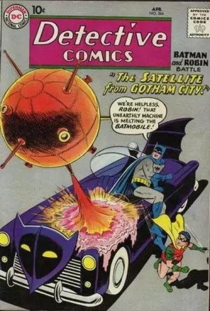 Foto carro do Batman em Detective Comics Vol.1 #266 (Abril de 1959)