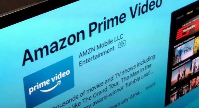 como instalar amazon prime na tv