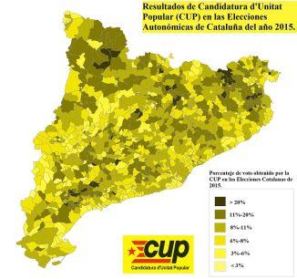 RESULTADOS DE LA CUP EN LAS ELECCIONES AUTONÓMICAS DE CATALUÑA DEL AÑO 2015.-https://upload.wikimedia.org/wikipedia/commons/2/23/ResultadosCupCatalunya2015.jpg