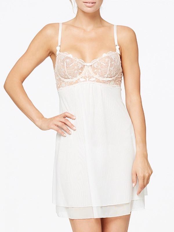 Top White Camisole Satin