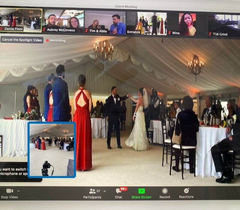 Showing How Zoom Wedding Works and Perspectives