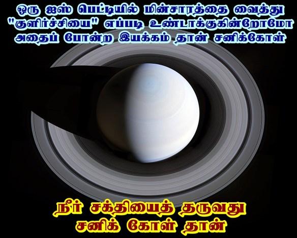 Saturn - water