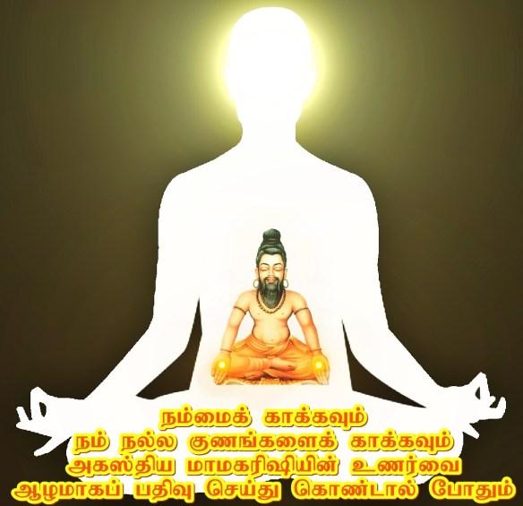 Agastyar meditation