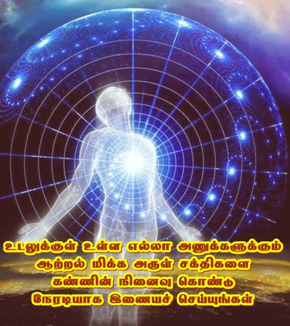 Divine spiritual rays