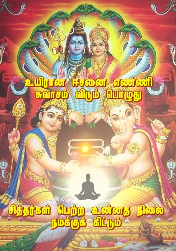 Lord ewara meditation