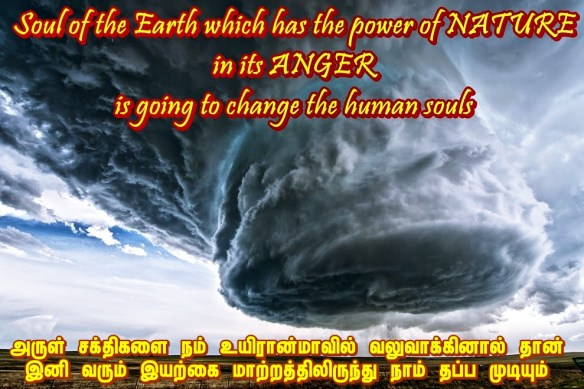 anger of nature