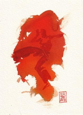 Encres : Capoeira – 347 [ #capoeira #watercolor #illustration]