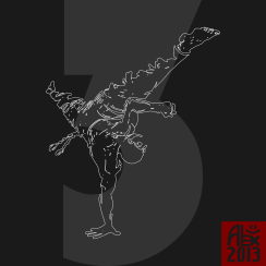 Encres : Capoeira – 362 [ #capoeira #vectoriel #illustration]