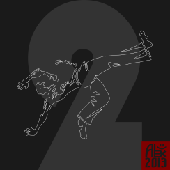 Encres : Capoeira – 363 / J -2 [ #capoeira #vectoriel #illustration]