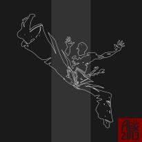 Encres : Capoeira – 364 / J -1 [ #capoeira #vectoriel #illustration]