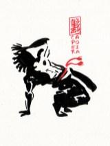 Encres : Capoeira – 390 [ #capoeira #watercolor #illustration]