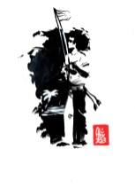 Encres : Capoeira – 458 [ #capoeira #watercolor #illustration] Encre sur papier 190gr / Ink on paper 190gr 14.8 x 21 cm / 5.8″ x 8.3″
