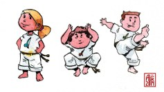 Encres : Capoeira – 568 [ #capoeira #watercolor #illustration] aquarelle sur papier 300gr / watercolor on paper 300gr
