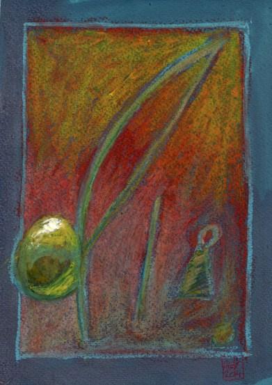 Encres : Capoeira – 578 [ #capoeira #pastel #illustration] pastel sur papier 300gr / pastel on paper 300gr 18 x 25 cm / 7.1 x 9.8 in