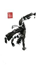 Encres : Capoeira – 594 [ #capoeira #watercolor #illustration] aquarelle sur papier 300gr / watercolor on paper 300gr 30 x 20 cm / 12 x 7.9 in