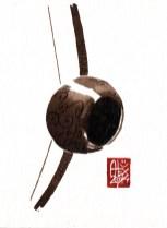 Illustration : Capoeira – 717 [ #capoeira #watercolor #illustration] aquarelle sur papier 325gr / watercolor on paper 325gr 12 x 16 cm / 4.7 x 6.30 in