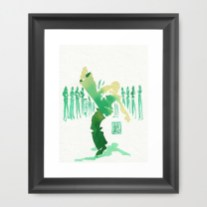 Capoeira 329 Framed Art Print