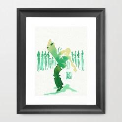 Capoeira 329 Framed Art Print