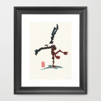 Capoeira 356 Framed Art Print
