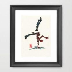 Capoeira 356 Framed Art Print