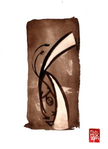 Illustration : Capoeira – 726 [ #capoeira #watercolor #illustration] aquarelle sur papier 325gr / watercolor on paper 325gr 24 x 32 cm / 9.4 x 12.6 in