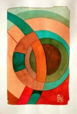 Illustration : Capoeira – 774 [ #capoeira #watercolor #illustration] encre sur toile / Ink on canvas 29.7 x 42 cm / 11.7 x 16.5 in
