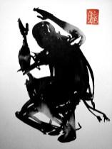 Illustration : Capoeira – 782 [ #capoeira #watercolor #illustration] aquarelle sur papier 325gr / watercolor on paper 325gr 24 x 32 cm / 9.4 x 12.6 in