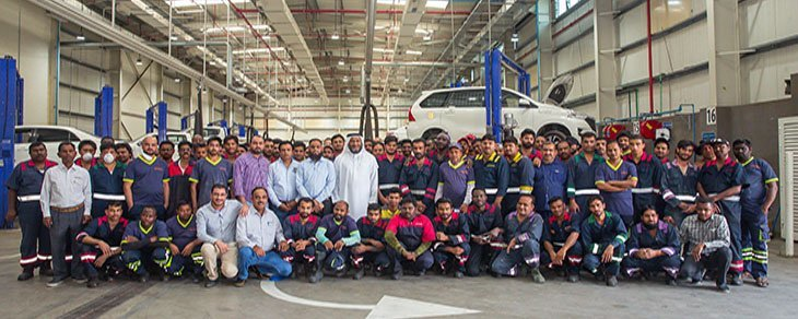 Emirates Transport celebrates Labour Day