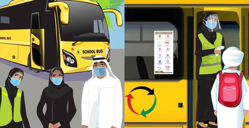 Emirates Transport releases an awareness video on school buses safety measures