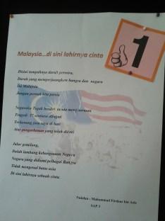 Pertandingan menulis sajak!