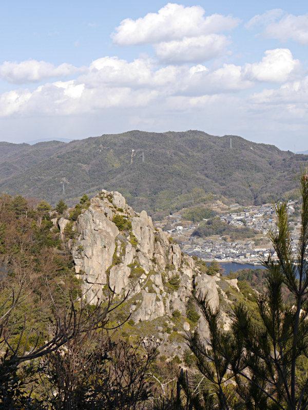 江田島 天狗岩