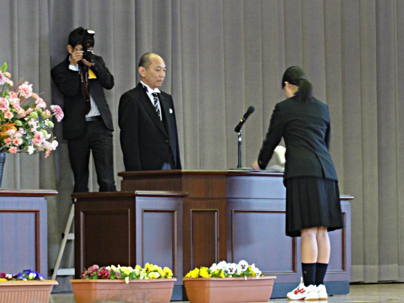 大柿高校平成31年度入学式