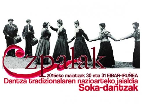 Soka-dantzak izango dira aurtengo Ezpalak, dantza tradizionalaren nazioarteko jaialdiaren gai nagusia