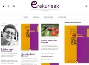 Martxan dago eRakurleak, euskal literaturaren irakuketa talde digitala