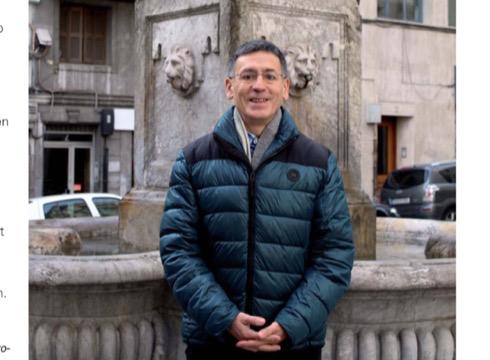 """Pedro Palacin: """"Orkestraren proiektu berria aurkezteko"""