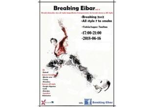 Breaking Eibar dantza txapelketarako izen-ematea zabalik dago