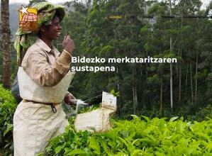 Bidezko merkataritzako produktuak erosteko webgunea ireki du Proyde – Proega fundazioak