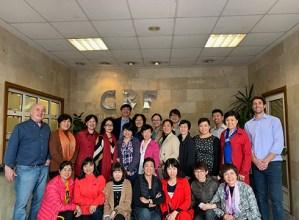 Txinako 21 ginekologo CRF Amosteguira bisita egin zuten aurreko astean