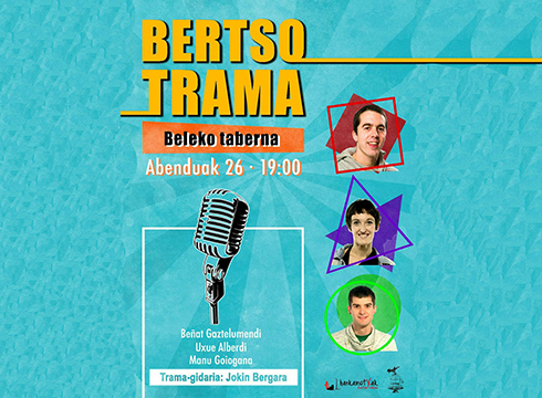 Bertso-trama hartuko du Beleko tabernak gaur, 19:00etatik aurrera