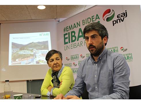 Hilerria Galizia etorbideko goiko aldean kokatzeko proposamena egin du EAJ-PNVk