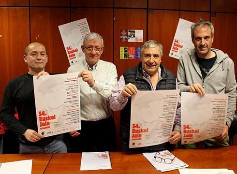 54. Euskal Jaiaren aurkezpena egin dute gaur arratsaldean Klub Deportiboan