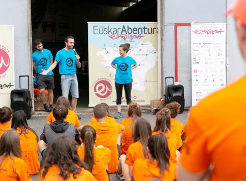 Abiatu da EuskarAbentura 2019 espedizioa!