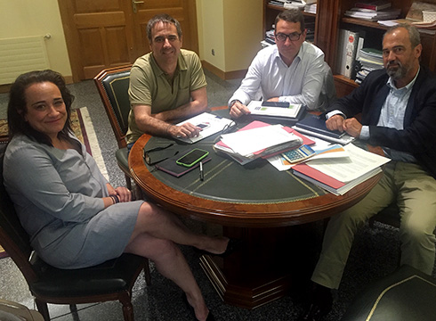 Azitain-Maltzaga bidegorriaren lanak lehenbailehen hasteko asmoa azaldu dute Diputaziotik