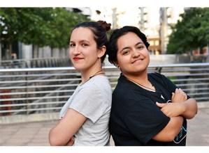 Vicky Rojas eta Dalila Cabrera, websail bat sortzeko zurrunbiloan