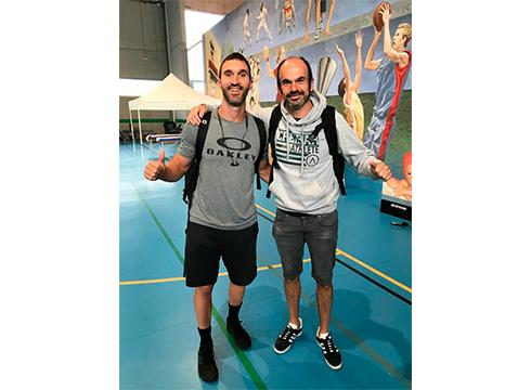 """Arkaitz Lopez eta Jon Peña """"pozik"""" 'The Nord Encounter' CrossFit txapelketan egindako lanarekin"""